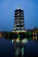 Two Rivers and Four Lakes,Guangxi,