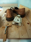 Personal property left behind by the former owners in a foreclosed home in Richmond, California, United States
