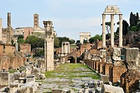 Rome  Italy  The Roman Forum Foro Romano