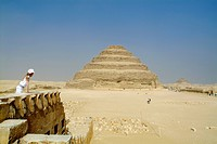 Step Pyramid at Saqqara, Egypt, North Africa
