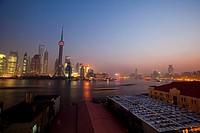 Huangpu River,Shanghai