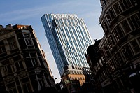 Nido Spitalfields - 100 Middlesex Street - student accommodation tower block, Aldgate, London, England