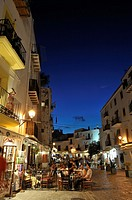 Old town, Ibiza, Balearic Islands, Spain