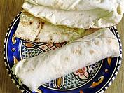 Arabic Fastfood  Pita Bread  Tunis, Tunisia