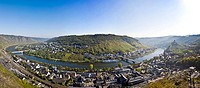 View of Cochem on the Moselle, Rhineland_Palatinate, Germany, Europe