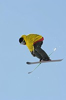 Female Freestyle Skier
