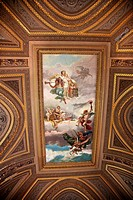 Vatican Museum Inside Ornate Heavenly Painted Ceiling Rome, Italy heaven