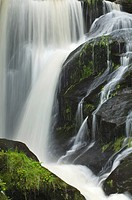 Triberger Wasserfaelle waterfalls, Black Forest, Baden-Wuerttemberg, Germany, Europe