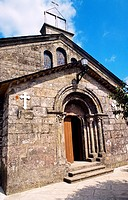 San Tirso church  Palas del Rey  Lugo  The Way of Saint James  Galicia  Spain