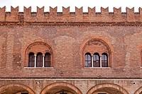 Mantua, Piazza Sordello, Lombardy, Italy