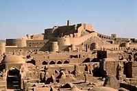 Iran, Kerman province, Bam, Argh-é Bam Citadel.