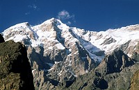 Pakistan, Northern Areas, Hunza, Ultar Peak,