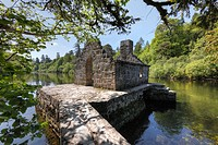 Monk's Fishing House, Cong Abbey, County Mayo and Galway, Connacht, Republic of Ireland, Europe