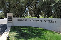 Gateway of the Robert Mondavi Winery, Napa Valley, California, USA, America
