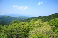 Mount Kongo, Chihayaakasaka, Osaka, Japan