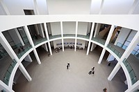 Pinakothek der Moderne, a modern art museum, architect Stephan Braunfels, Munich, Bavaria, Germany, Europe