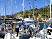 Italy, Tuscany, Giglio Island, Giglio Porto
