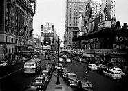 USA, New York City, Times Square during day