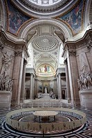 France,Paris,The Pantheon,Foucault's Pendelum