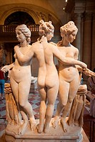 France,Paris,Louvre,The Three Graces