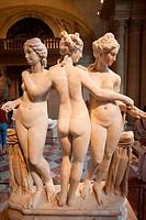 France,Paris,Louvre,The Three Graces