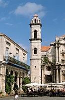 Cuba, Havana, San Cristóbal Cathedral,