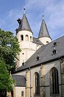 St. James' Church in Goslar, Lower Saxony, Germany, Europe