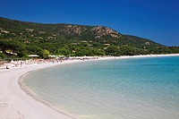 Palombaggia Beach, Corsica, France, Europe