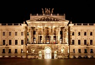 Reconstruction of Brunswick Palace, Schloss-Arkaden shopping centre, city library, city archive, castle museum, Braunschweig, Brunswick, Lower Saxony,...