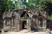 Ta Som Temple, Angkor temples, Siem Reap, Cambodia, Indochina, Southeast Asia