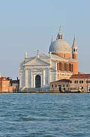 Venice  Italy  Palladio's church of the Redentore on the Giudecca