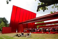 Serpentine Gallery Pavilion 2010 by Jean Nouvel, London