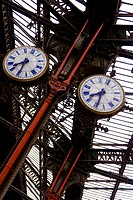 old railway clocks