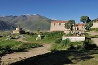 Reting monastery, Tibet, China, Asia