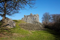 St Quentin's Castle, Llanblethian, Cowbridge, Wales, UK