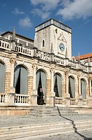 Croatia, Hvar island, Hvar  Palace hotel in old Venetian loggia