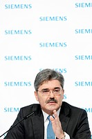 Jo Kaeser, Chief Financial Officer of Siemens AG, during the press conference on financial statements on 11.11.2010 in Munich, Bavaria, Germany, Europ...