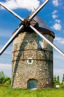 windmill, La Roche, Loire Valley, France