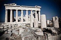 Parthenon on the Acropolis  Athens  Greece