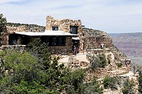 View of the Kolb Studio, Grand Canyon, Arizona, USA, North America