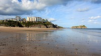 South Beach, St  Catherine's Island and Tenby, Pembrokeshire, South Wales