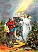 Balaam and the Angel  From an edition of John Browns Self Interpreting Bible first published in 1778