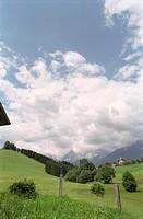 Mountainous landscape in Summer, Stodertal, Austria, Alps, Europe