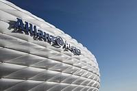 Allianz Arena football stadium, Munich, Bavaria, Germany, Europe