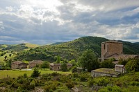 Olaverri near Pamplona, Camino Frances, Way of St. James, Camino de Santiago, pilgrims way, UNESCO World Heritage, European Cultural Route, province o...