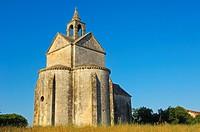 Chapelle St-Croix, Montmajour abbey near Arles, Arles, Bouches du Rhone, Provence, France, Europe