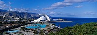 open_air swimming Pool and Auditorium, Sta Cruz de Tenerife, Tenerife, Canary Islands, Spain