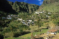 Lomo de Balo, Valle Gran Rey, La Gomera, Canary Islands, Spain