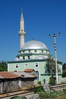 Mosque near Dalyan village in Turkey