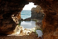 The Grotto rock formation, Port Campbell National Park, Great Ocean Road, Victoria, Australia